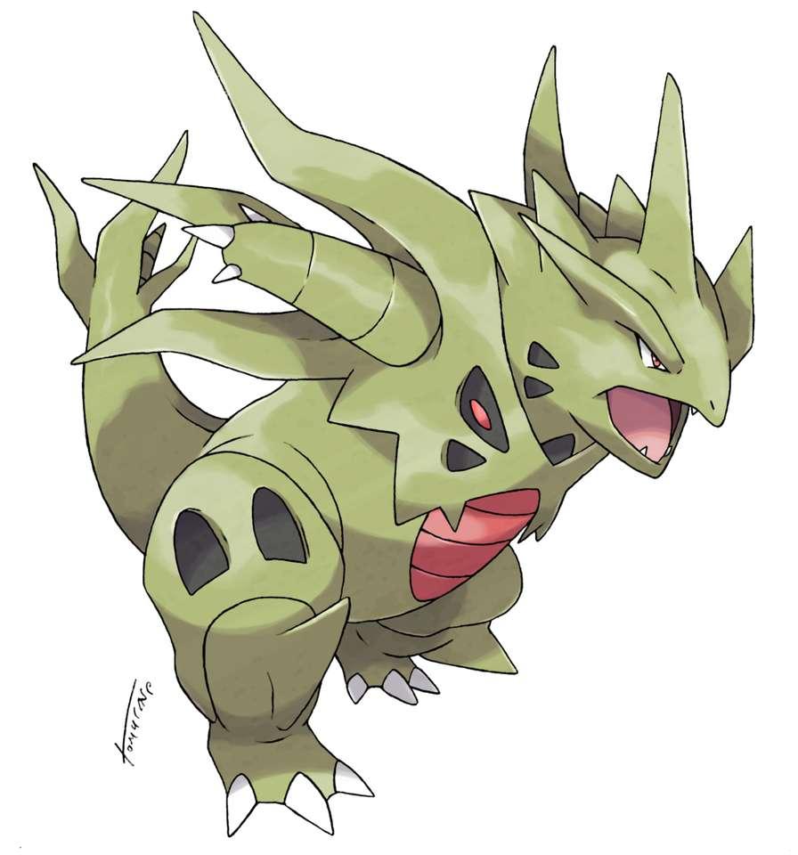 Mega Tyranitar - Mega Tyranitar δροσερό pokemon (7×8)
