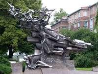 Μνημείο για τους υπερασπιστές του Πολωνικού Ταχυδρομείου στο Γκντανσκ
