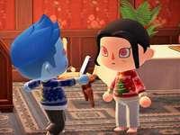 Kisame et Itachi fêtent Noël ensemble