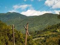Montanhas georgianas