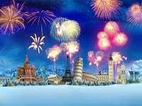 Πυροτεχνήματα την παραμονή της Πρωτοχρονιάς