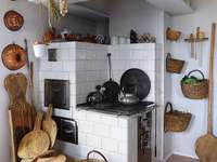rusztikus stílusban egy házban