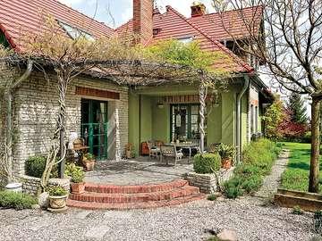 casă rustică elegantă