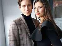 Piotr Nowak és Sylwia Witos