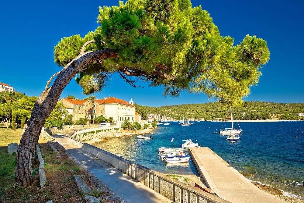 île de vis en croatie - m (13×9)