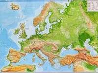 χάρτης της Ευρώπης