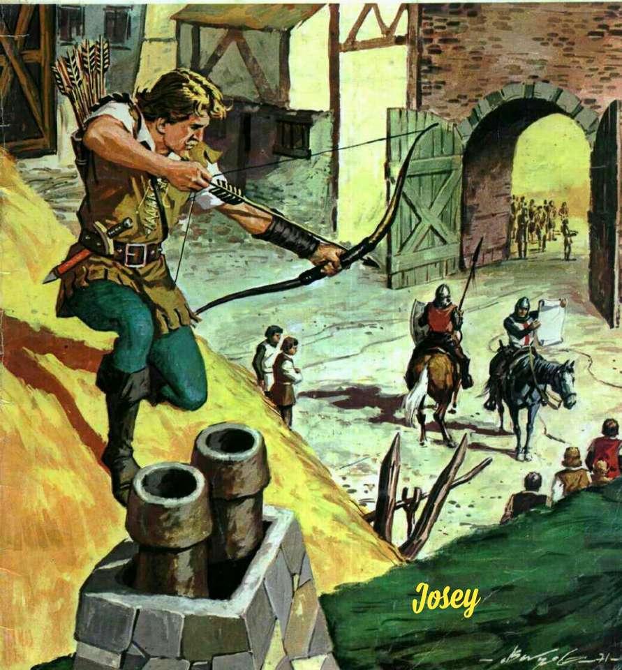 Robin Hood - Robin Hood-prins van dieven (18×20)