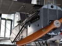Un avion de la Première Guerre mondiale