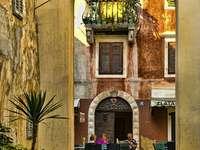 Stare miasto Lovran Istria Chorwacja