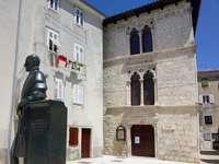 Stare miasto wyspa Cres w Chorwacji