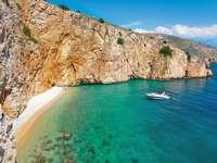 Bucht Insel Krk Kroatien