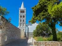 Város a Rab-szigeten, Horvátország