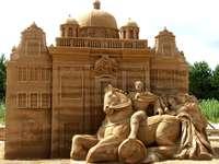 Sculptures de sable à Jelitkowo