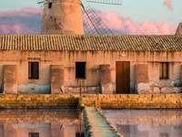 Saline Marsala Sicilië Italië