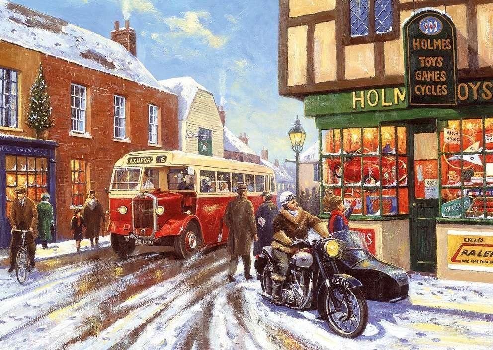 Nyaralás Angliában - Karácsony a régi Angliában (12×9)
