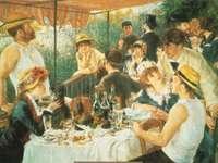 renoir. snídaně veslařů