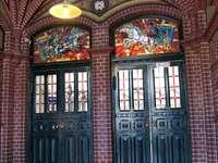 L'intérieur du bureau de poste polonais à Chełmno