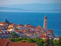 Insel Brac Stadt Sutivan Kroatien