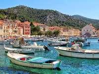 Остров Хвар, Хърватия