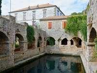 Castelo Antigo da Ilha de Hvar Croácia