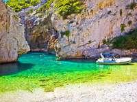 Insel Vis Bucht Kroatien