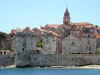 Insel Korcula Kroatien