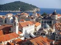 Dubrovnik Dalmácia Horvátország