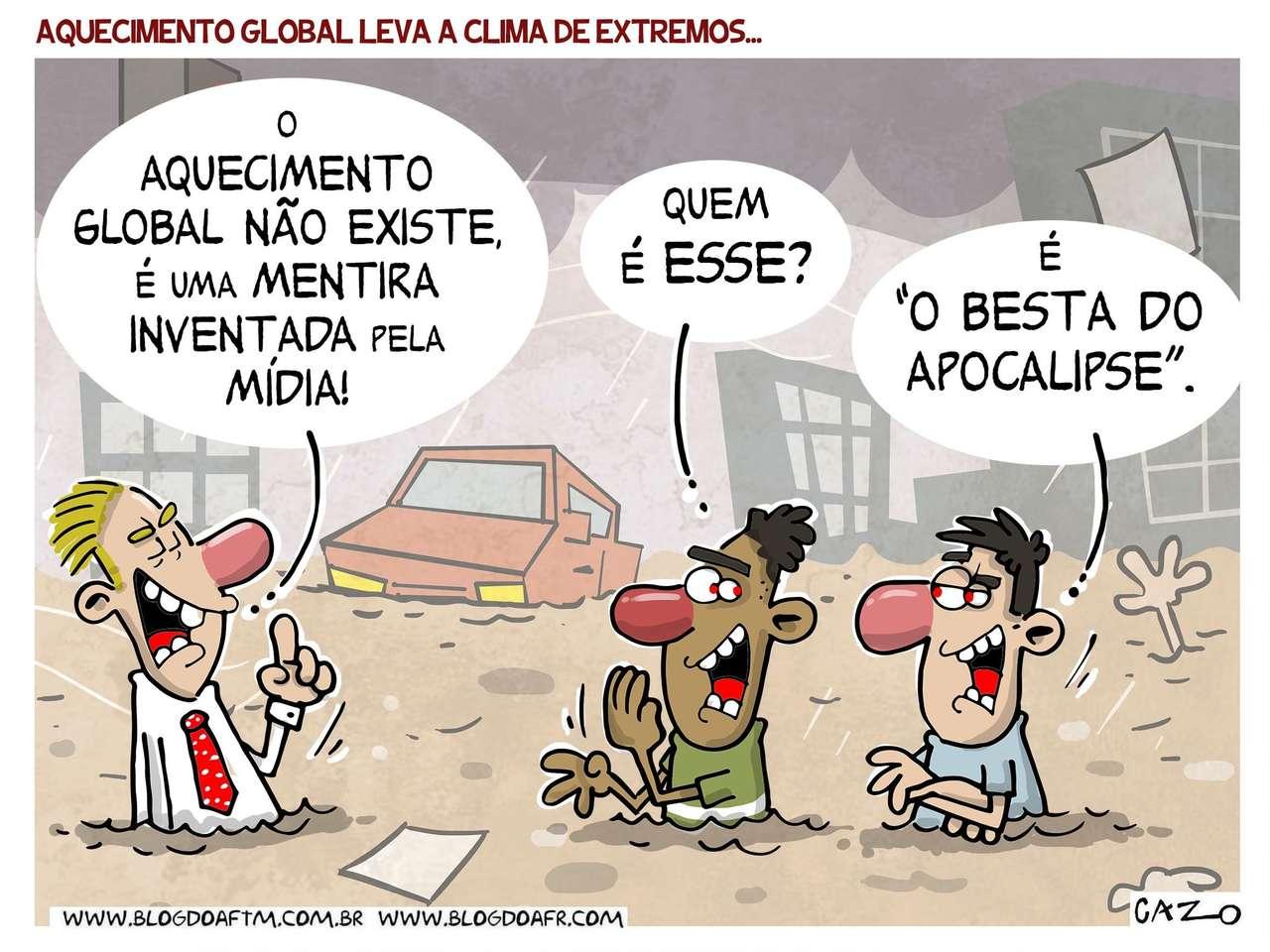 réchauffement climatique - Cours de langue portugaise (9×7)