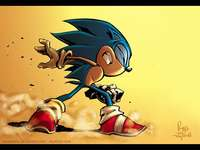 sonic in the fight.