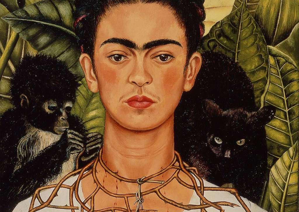 Surrealistisk målning - Surrealistisk mexikansk målning (5×4)