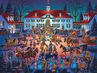 puzzle - Noël en ville