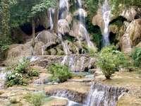 Водопадите Куанг Си - Лаос