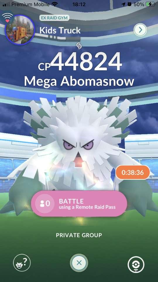 Mega Abomasnow - Mega Abomasnow llooll (2×4)