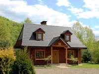 къща в bieszczady