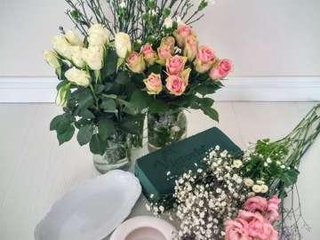 flores para composições