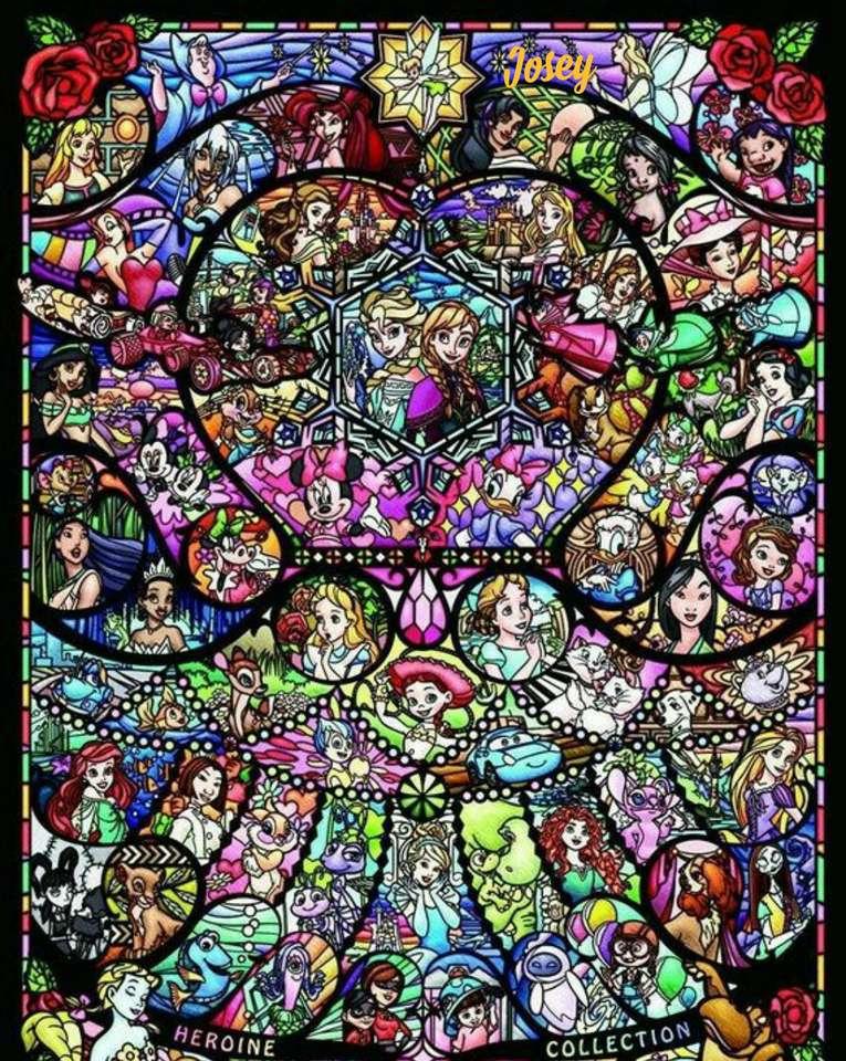 Mosaico disney - Universo wald disney (15×20)