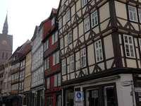 Hanovre - maisons à colombages