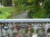Cadeados na ponte