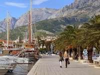 Makarska v Chorvatsku