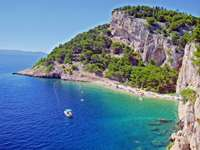 Horvátország Makarska partja
