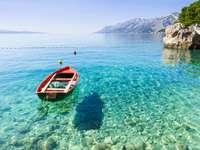 Küste bei Makarska Kroatien