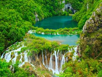Plitvicei-tavak Nemzeti Park Horvátország