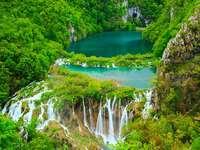 Parque Nacional dos Lagos Plitvice Croácia