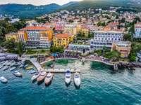 Παραλιακή πόλη Opatija της Κροατίας