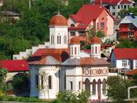En la iglesia de Opatja Croacia