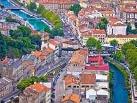 Град Риека в Хърватия