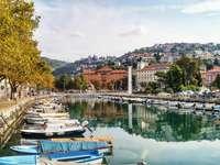 Πόλη της Ριέκα στην Κροατία