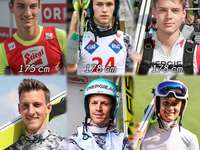 Austrian ski jumpers.