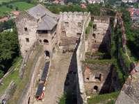 Bolków slott ruiner.