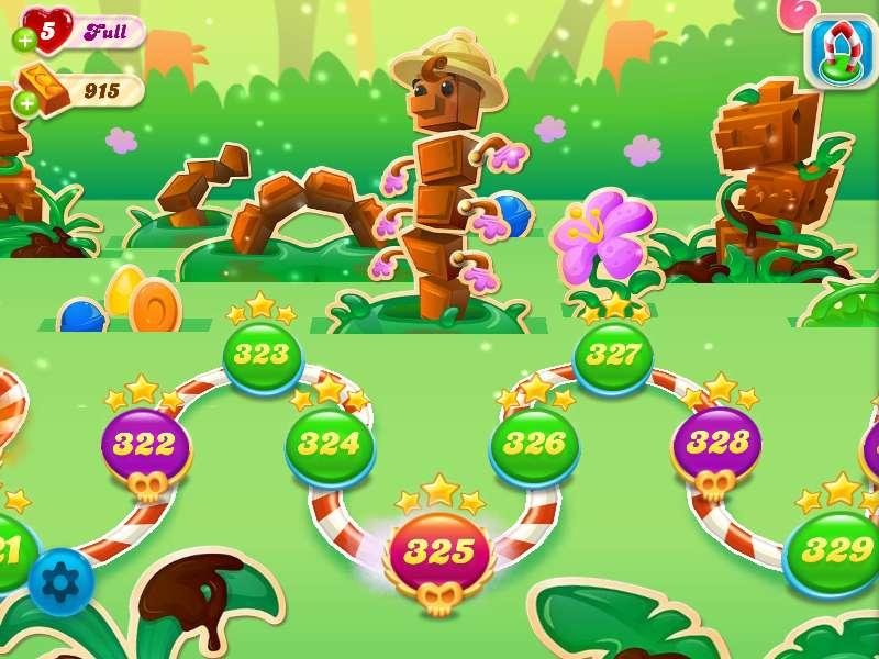 Czekolada Crush Candy - To moja ulubiona postać w cukierkach (2×2)